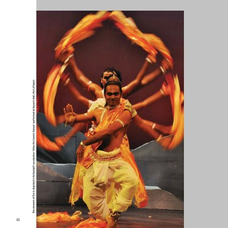 "Nrityanjali's production, ""Shiva the Cosmic Dancer"", in the East Indian Cultural Dance subsection of People & Culture."