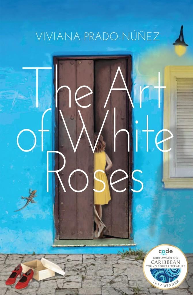 art of white roses